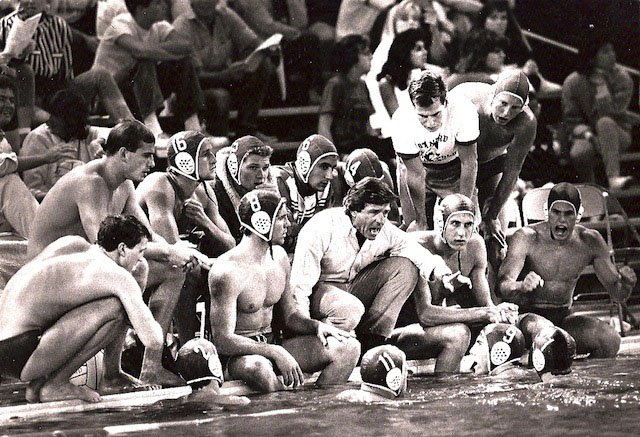 Head Coach Dante Dettamanti and the 1986 Stanford Cardinal
