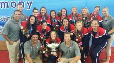 USA Senior Women Win Gold Medal, 2014 World League