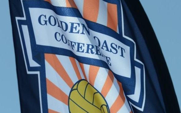 GCC golden coast conference flag logo