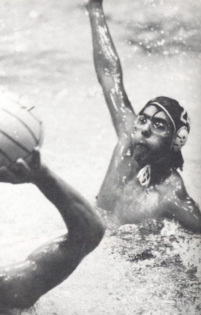 mehmet oz 1982 Yearbook Photo of Harvard Water Polo