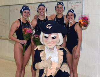 Covid Claims GW Women's Water Polo
